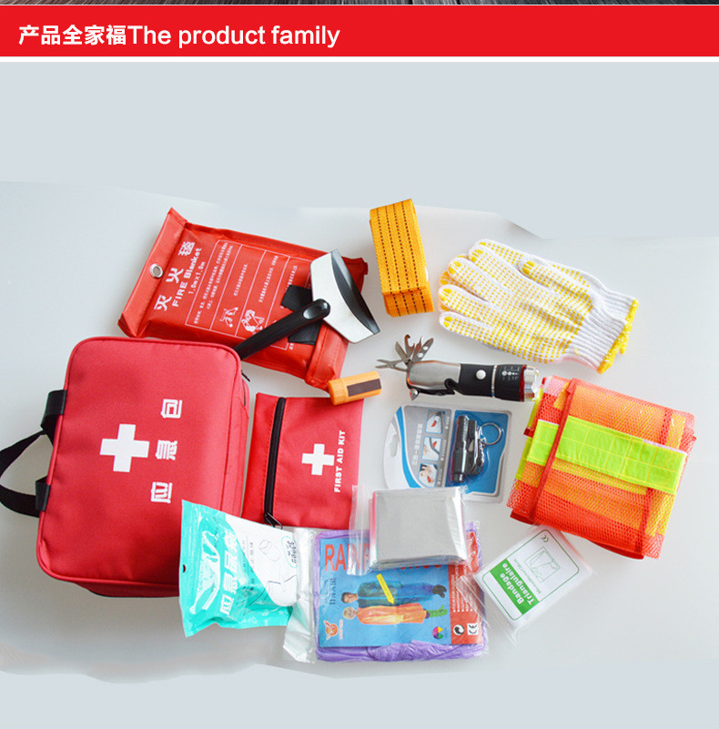 Auto Medic Travel Safety Kit