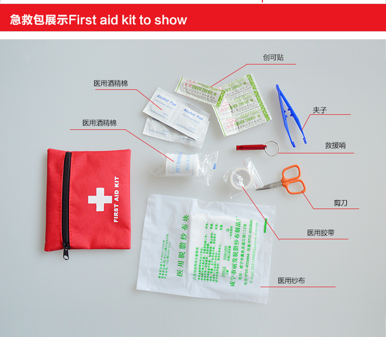 Auto Medic Travel emergency Kit